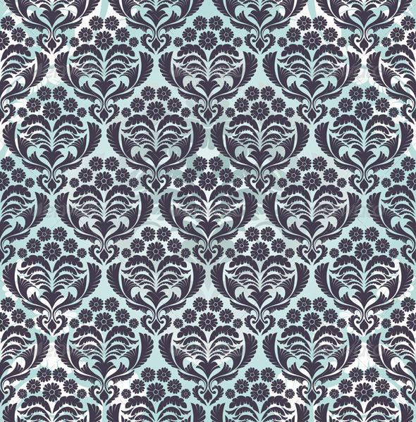 GraphicRiver Damask Seamless Pattern 8295812