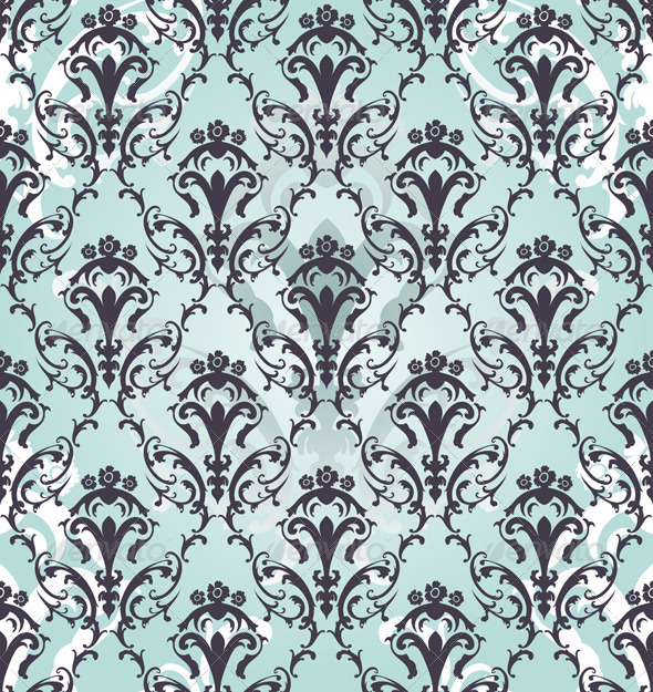 GraphicRiver Damask Seamless Pattern 8295829