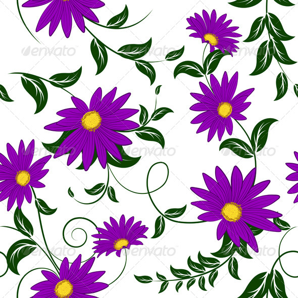 GraphicRiver Seamless Floral Pattern 8295888