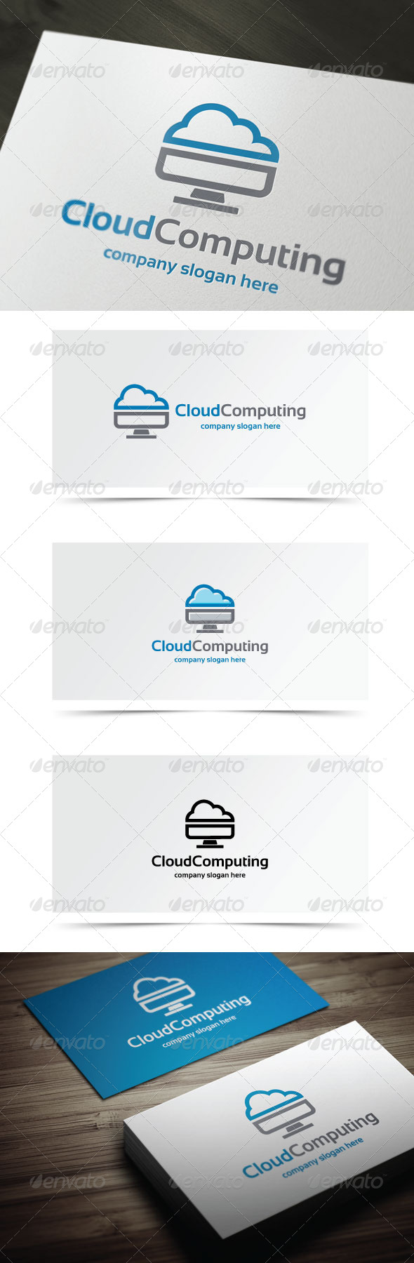 GraphicRiver Cloud Computing 8296194