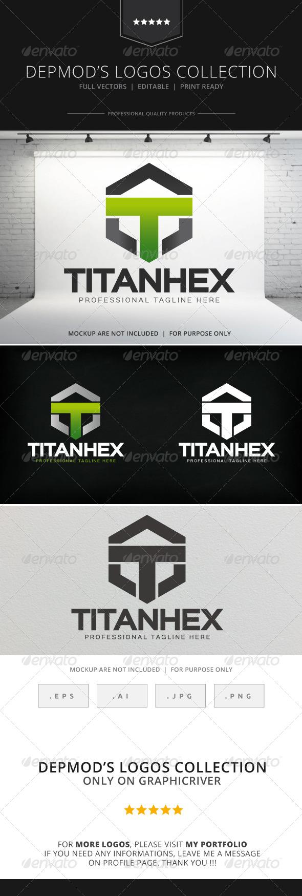 GraphicRiver Titan Hex Logo 8296198