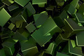 Green 3D Metal Cubes - PhotoDune Item for Sale