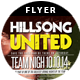 Hillsong United | Flyer - GraphicRiver Item for Sale