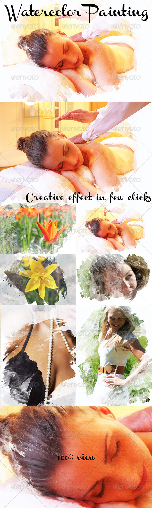 GraphicRiver Creative Watercolor Template 8296419