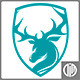 Shield Deer - GraphicRiver Item for Sale