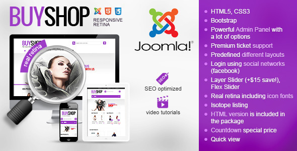 01 buyshop joomla. large preview - BuyShop - Premium Responsive Virtuemart theme