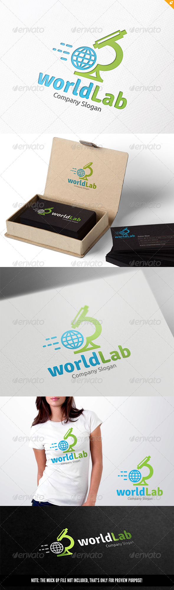 GraphicRiver World Lab 8296540