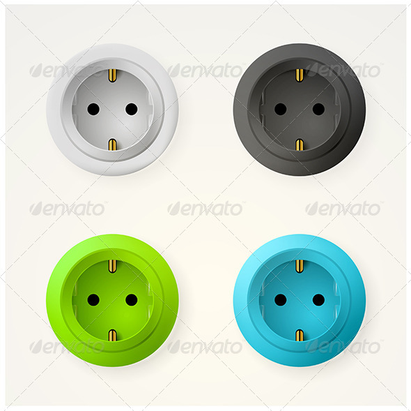 GraphicRiver Illustration of Sockets 8296543