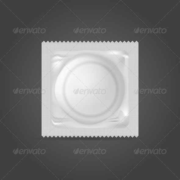 GraphicRiver Illustration of Condom 8296554