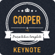 Cooper Keynote Presentation Template - GraphicRiver Item for Sale
