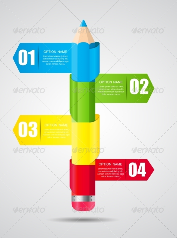 GraphicRiver Timeline Infographic Template for Business Vector 8296751