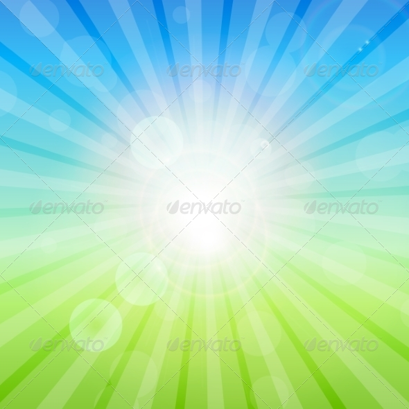 GraphicRiver Summer Abstract Background 8296827