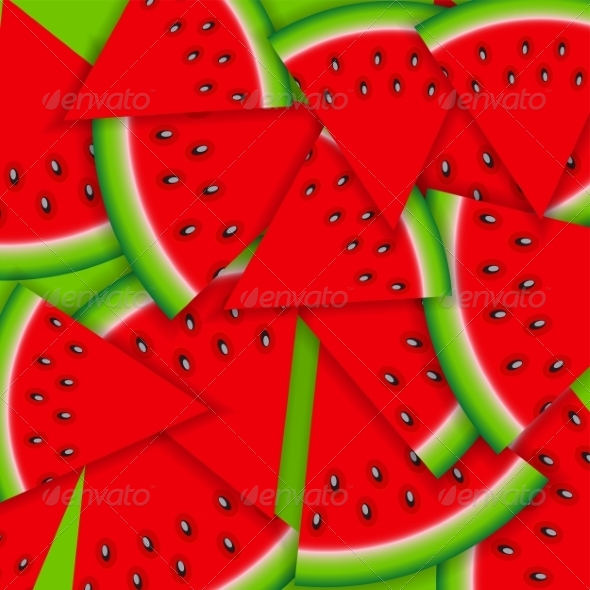 Watermelon Emoji Wallpaper Graphicriver Background From