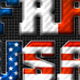 45 Country Flag Text Styles Bundle - GraphicRiver Item for Sale