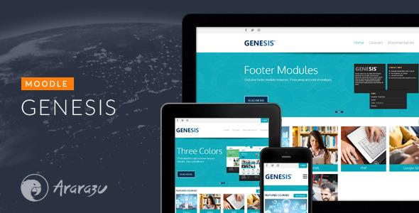 Genesis - Responsive Moodle Theme - Moodle CMS Themes