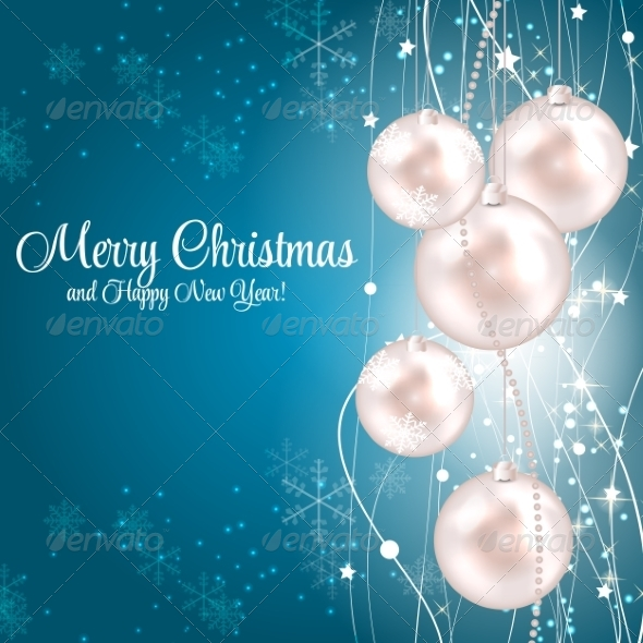 GraphicRiver Abstract Christmas and New Year Background 8302380