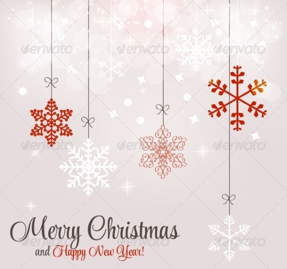 GraphicRiver Abstract Christmas and New Year Background 8302390