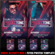 Guest DJ Party Ver.5 Flyer/Poster Template - GraphicRiver Item for Sale
