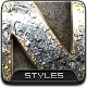 12 Realistic Metal Styles - GraphicRiver Item for Sale