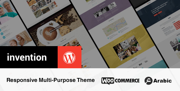 ThemeForest Invention Responsive Multi-Purpose WordPress Theme 8286434