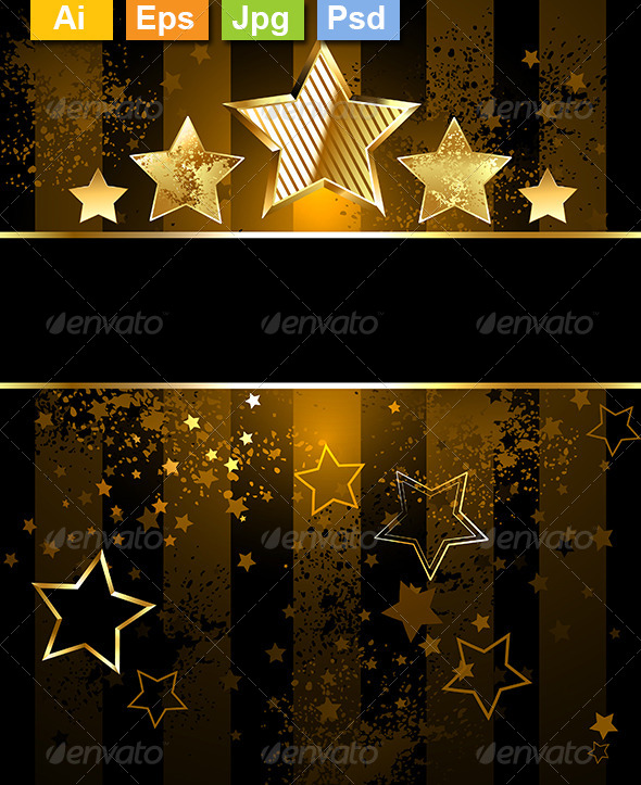 GraphicRiver Background with Stars 8303094