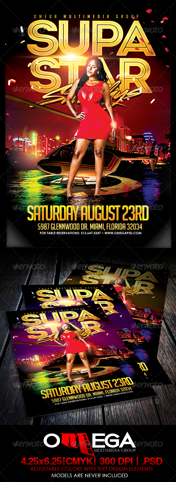GraphicRiver Supa Star Saturdays 8303320