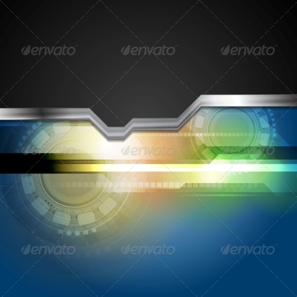 GraphicRiver Abstract Hi-Tech Background 8303372