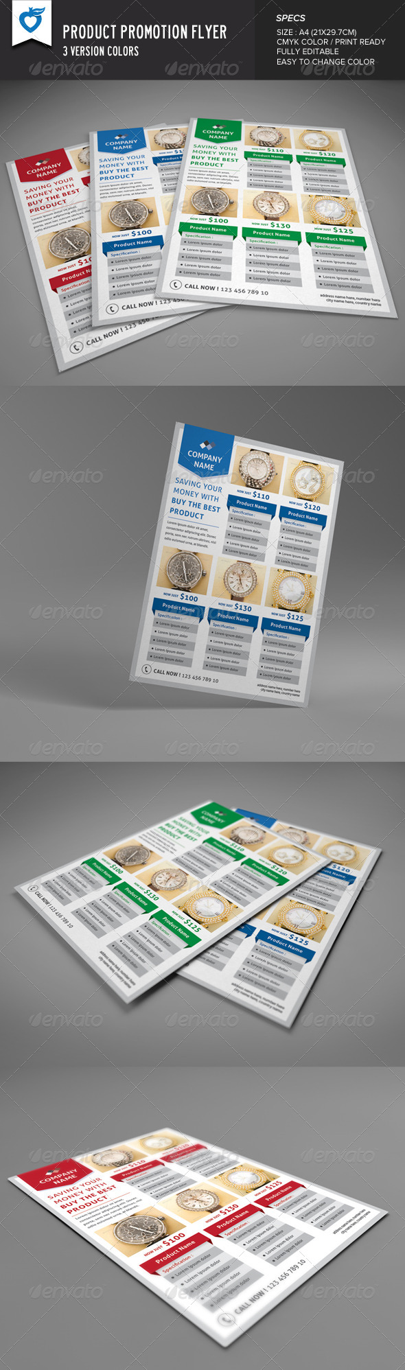 GraphicRiver Product Promotion Flyer 8303378
