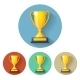 Vector Champions Cup Icon - GraphicRiver Item for Sale