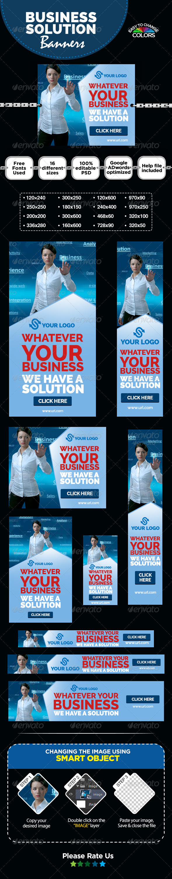 GraphicRiver Business Solutions Banners 8304589