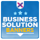 Business Solutions Banners - GraphicRiver Item for Sale