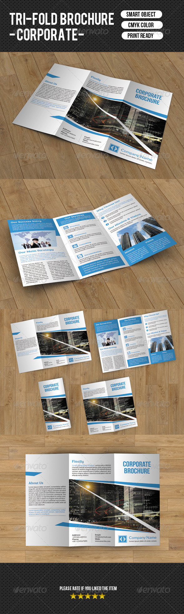 GraphicRiver Trifold Business Brochure V34 8304740