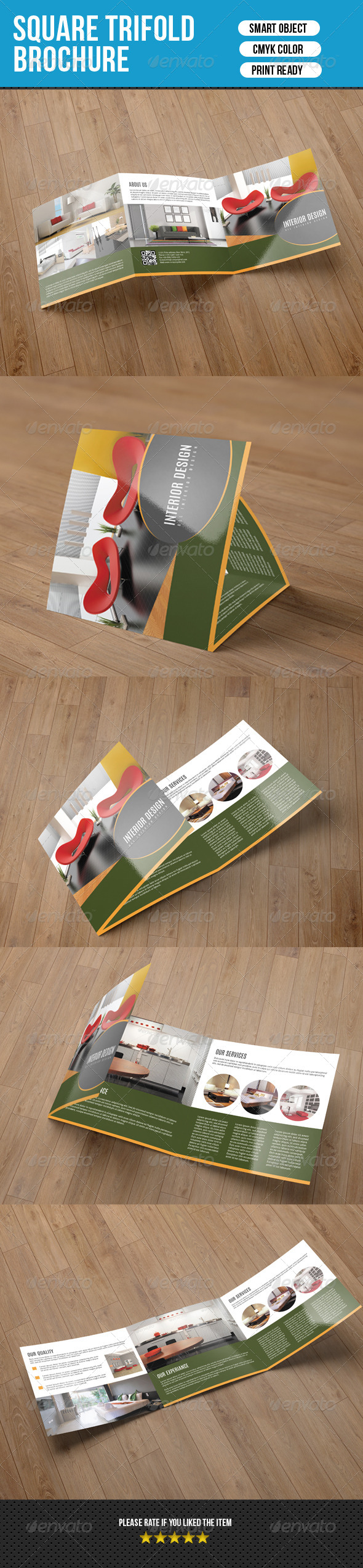 GraphicRiver Square Trifold for Interior Desing-V16 8304810