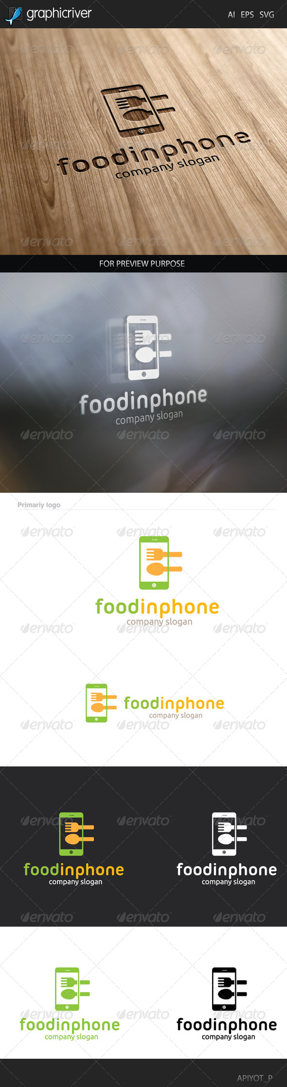 GraphicRiver Food Inphone 8305058