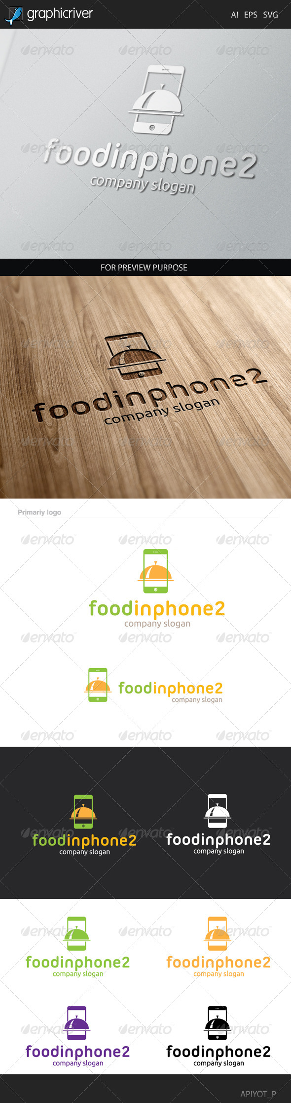 GraphicRiver Food Inphone 8305107