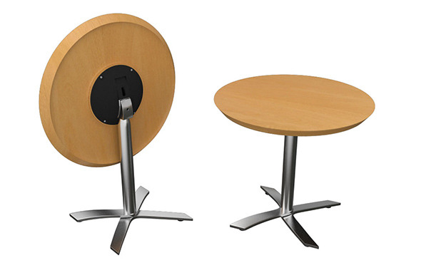 3DOcean Flip-top Round Office Table 8240841