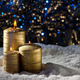 Candles in snow - PhotoDune Item for Sale