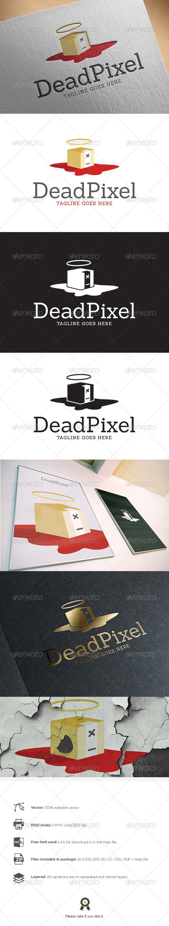 GraphicRiver Dead Pixel Logo 8311728
