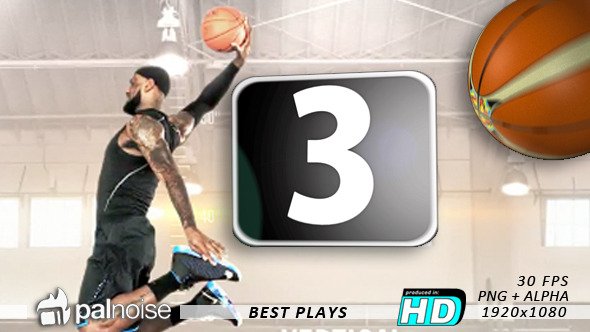 Best Plays Basketball Countdown 12-Pack