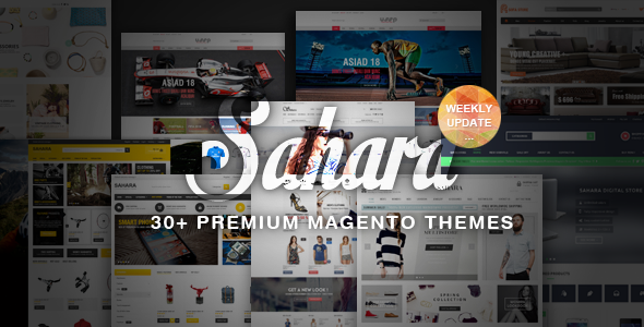 SAHARA - Ultimate Responsive Magento Themes - Fashion Magento