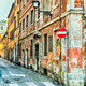 Narrow street in Rome - PhotoDune Item for Sale