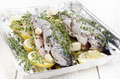 trout with lemon slices and thyme - PhotoDune Item for Sale