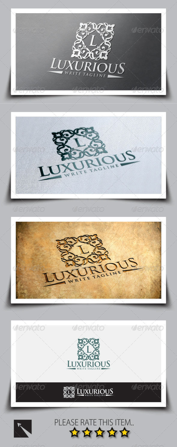Luxurious V2 Logo Template