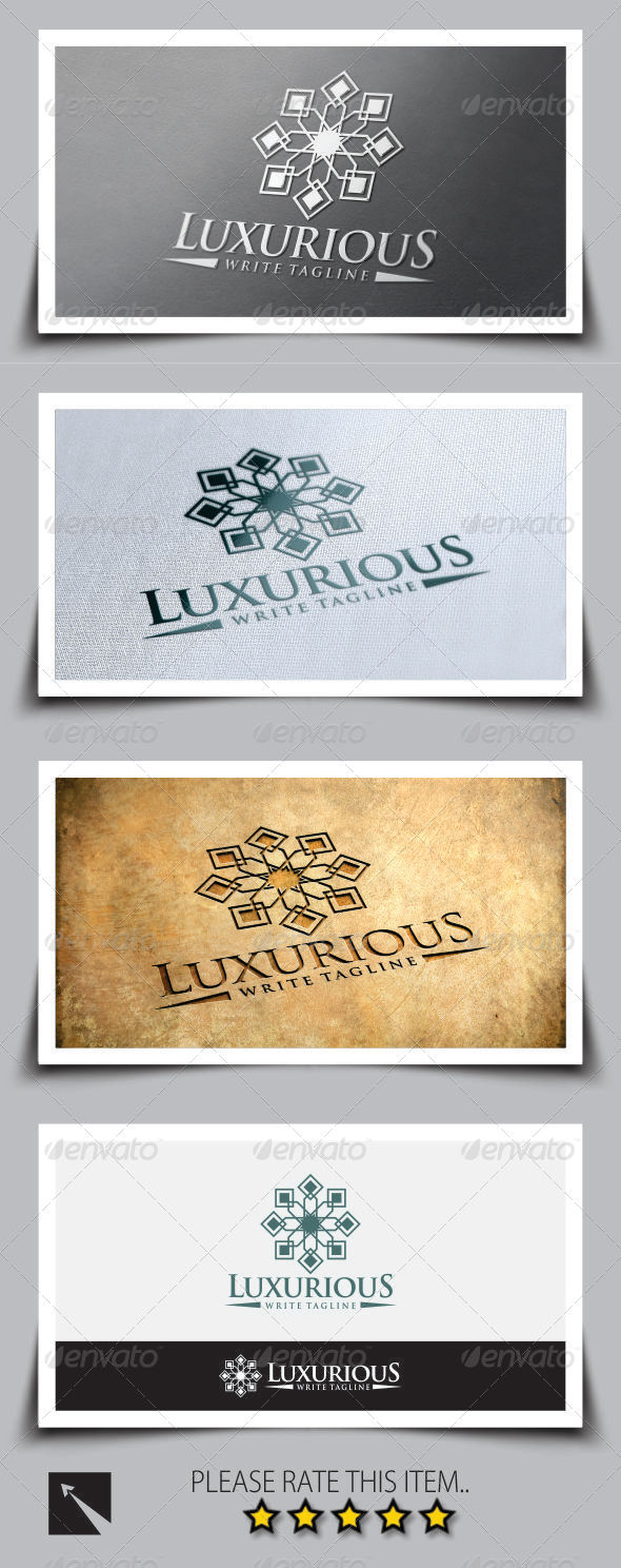 GraphicRiver Luxurious V3 Logo Template 8313371