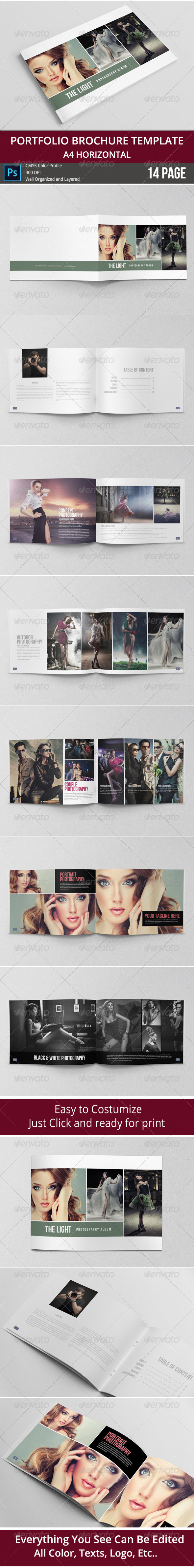 GraphicRiver Simple & Minimalist Album photo Template 8313798