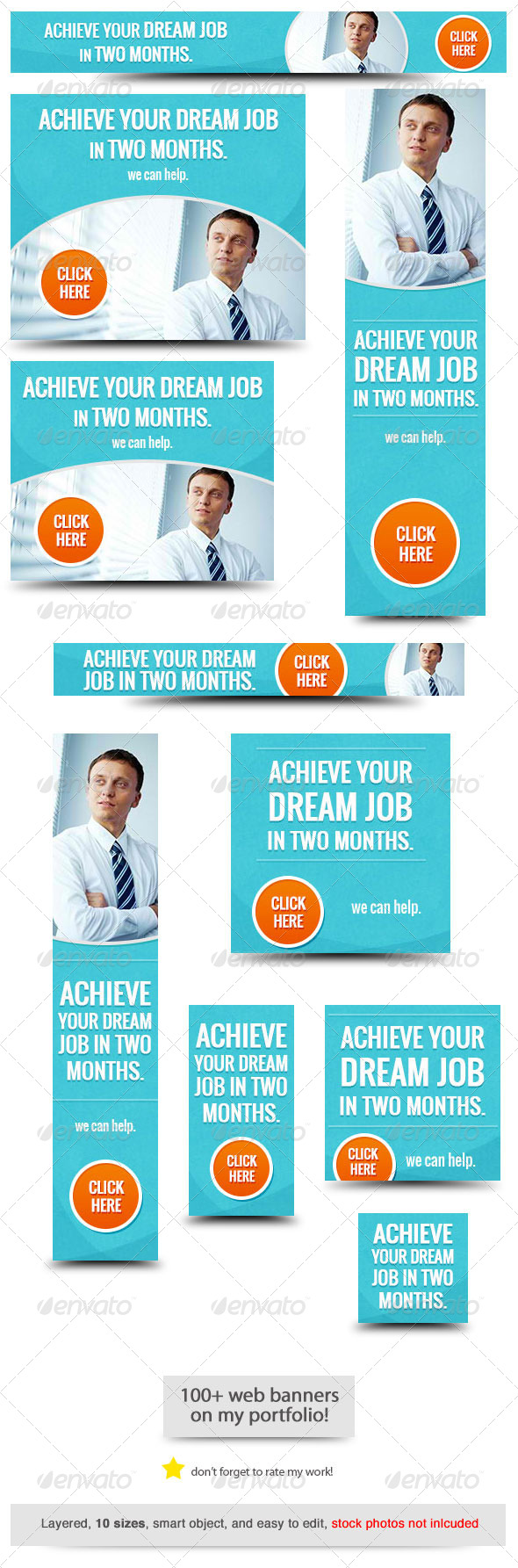 GraphicRiver Best Job Web Banner Design 8314011