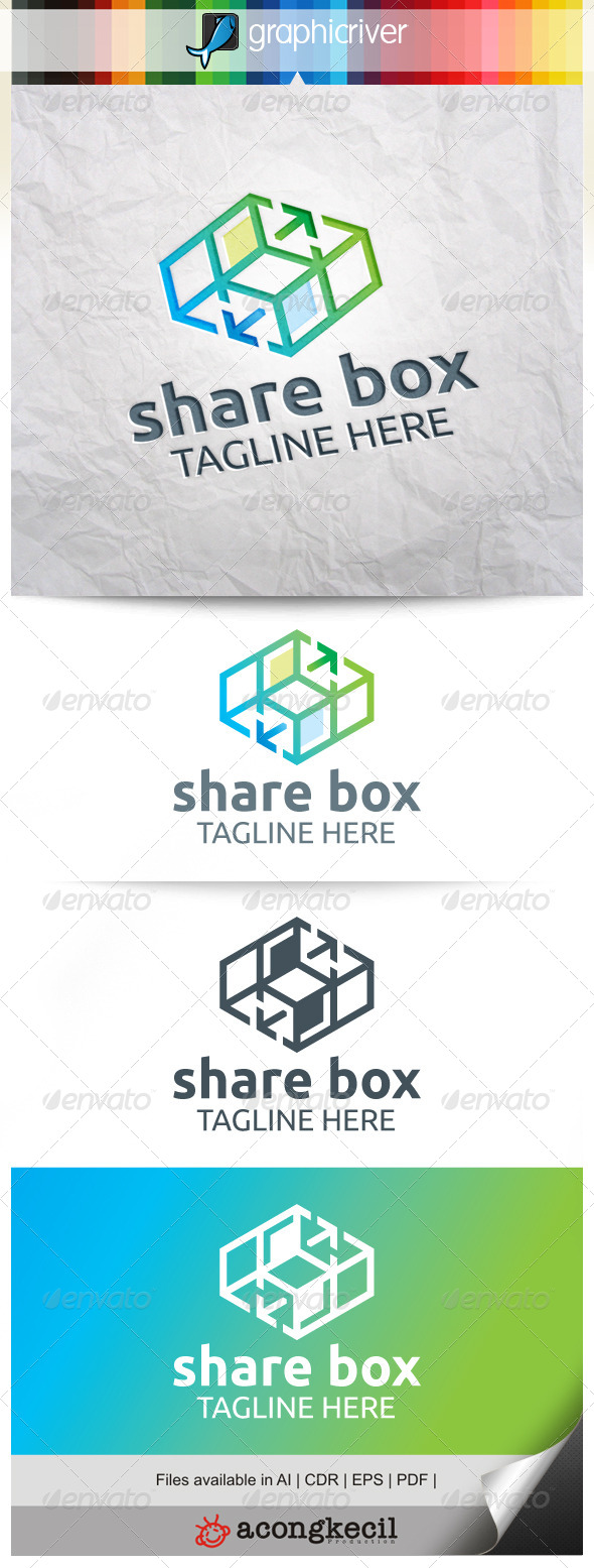 GraphicRiver Box Share V.5 8314320