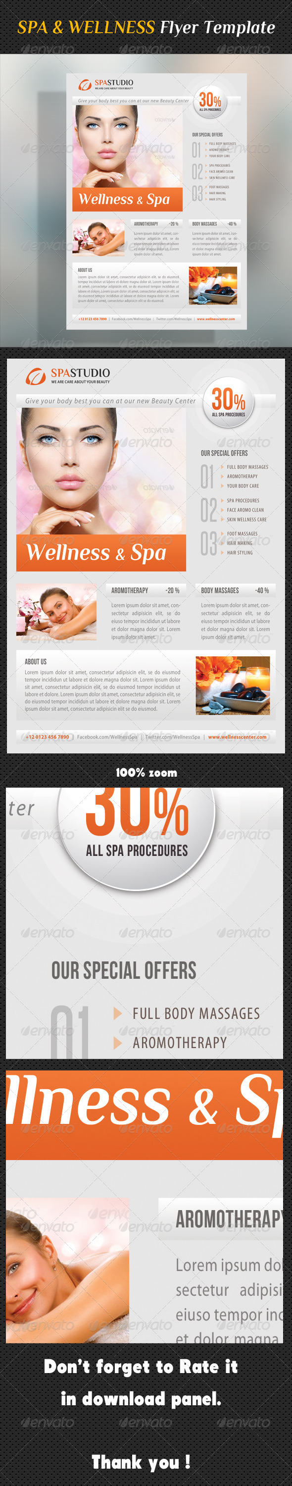 GraphicRiver Spa Studio Flyer 29 8314340