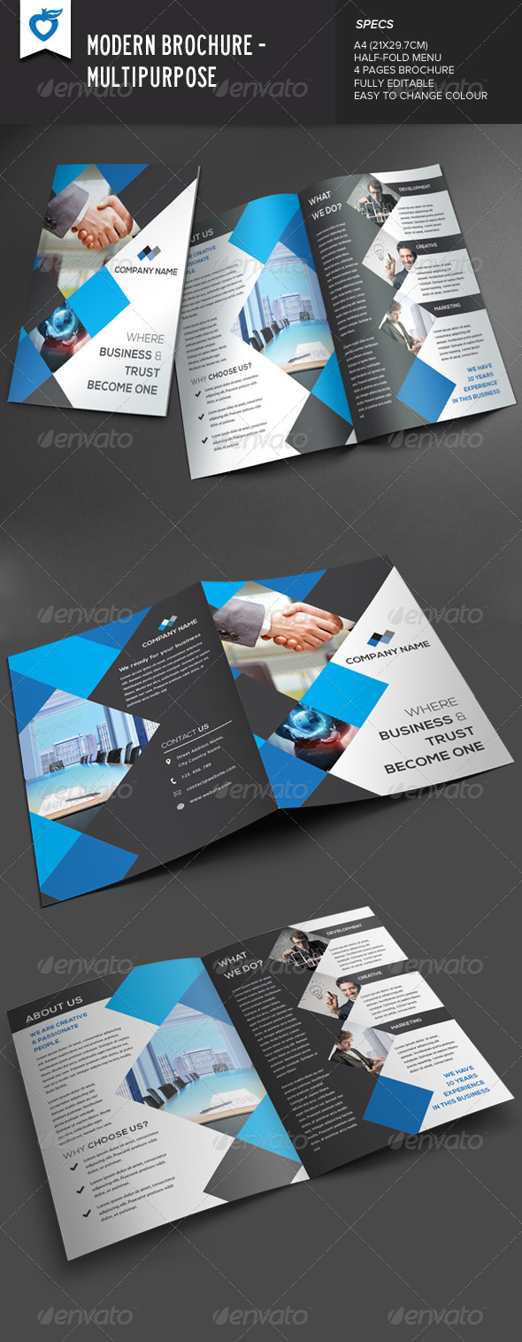 GraphicRiver Modern Brochure 8314385
