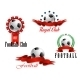 Four Football and Soccer Emblems - GraphicRiver Item for Sale
